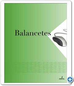 Capa para Arquivo de Balancetes